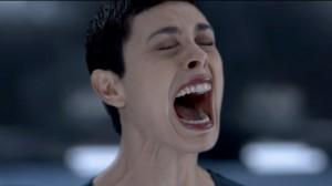 V - Anna Screams in agony because of the V plot-line