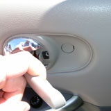 Bolt No 1 - Door Handle Bolt With Cover In  - Fixing a Nissan Quest Window Motor