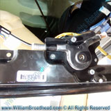 The Window Motor, Rail, and Pulley Assembly - Fixing a Nissan Quest Window Motor