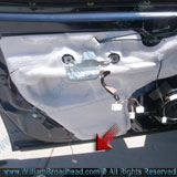 Door Panel Completely Removed - Fixing a Nissan Quest Window Motor