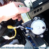 Testing Replacement Motor - Fixing a Nissan Quest Window Motor