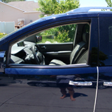 The Drivers Door With The Window Stuck Down - Fixing a Nissan Quest Window Motor